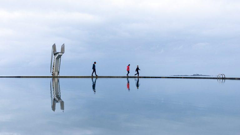 paysage bord de mer tirage d'art limité